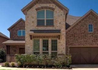 Pre Foreclosure in Coppell 75019 SERENITY CT - Property ID: 1719540377