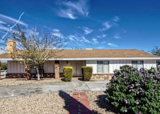 Pre Foreclosure in Hesperia 92345 4TH AVE - Property ID: 1722046919