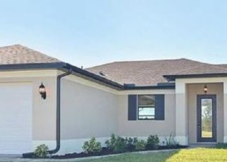 Pre Foreclosure in Cape Coral 33993 NW 26TH ST - Property ID: 1722598762