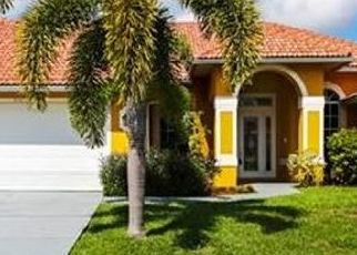 Pre Foreclosure in Cape Coral 33914 SW 29TH AVE - Property ID: 1722777897