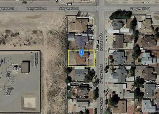 Pre Foreclosure in El Paso 79928 LAGO SECO DR - Property ID: 1723282874