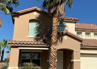 Pre Foreclosure in North Las Vegas 89084 SURFBIRD ST - Property ID: 1724207431