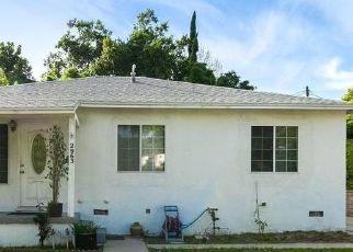 Pre Foreclosure in Glendale 91208 CANADA BLVD - Property ID: 1725989998