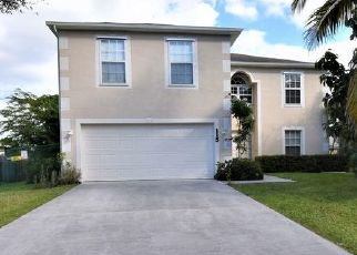 Pre Foreclosure in Port Saint Lucie 34983 NW FRIAR ST - Property ID: 1730680243