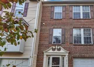 Pre Foreclosure in Upper Marlboro 20772 TOWN CENTER WAY - Property ID: 1730726685