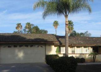 Pre Foreclosure in Riverside 92508 CALLE VISTA DR - Property ID: 1732496976
