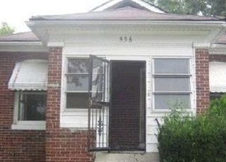 Pre Foreclosure in East Saint Louis 62205 WIMMER PL - Property ID: 1733476268
