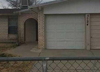 Pre Foreclosure in El Paso 79924 WEATHERFORD LN - Property ID: 1734588737