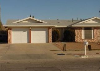 Pre Foreclosure in El Paso 79936 BILLIE MARIE DR - Property ID: 1737251164