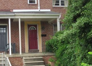 Pre Foreclosure in Baltimore 21213 EDISON HWY - Property ID: 1737299345