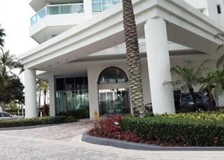 Pre Foreclosure in North Miami Beach 33160 COLLINS AVE - Property ID: 1738070177