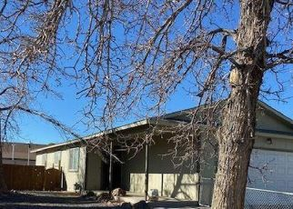Pre Foreclosure in Fernley 89408 COMSTOCK DR - Property ID: 1739770396