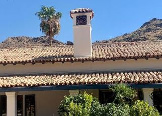 Pre Foreclosure in Paradise Valley 85253 N LAS BRISAS LN - Property ID: 1740774232