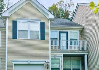 Pre Foreclosure in Princeton Junction 08550 NORMANDY DR - Property ID: 1741668579