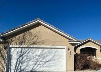 Pre Foreclosure in Fallon 89406 CONIFER DR - Property ID: 1745493855