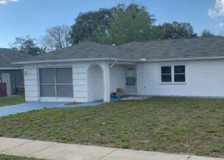 Pre Foreclosure in Spring Hill 34609 WOODRIDGE LN - Property ID: 1747952634