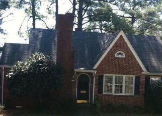 Pre Foreclosure in Wilson 27893 MOUNT VERNON DR NW - Property ID: 1749445234