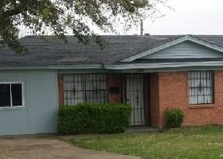 Pre Foreclosure in Dallas 75232 RACINE DR - Property ID: 1749716796