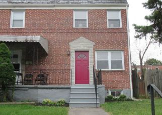 Pre Foreclosure in Baltimore 21229 COOKS LN - Property ID: 1754350106