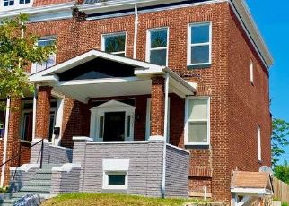 Pre Foreclosure in Baltimore 21215 REISTERSTOWN RD - Property ID: 1757037522