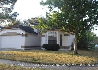 Pre Foreclosure in Apopka 32703 CRAWFORD DR - Property ID: 1758676422