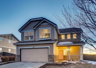 Pre Foreclosure in Castle Rock 80104 PEABODY ST - Property ID: 1758847675
