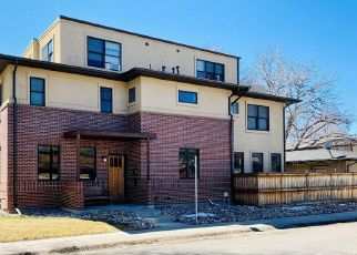 Pre Foreclosure in Denver 80210 S RACE ST - Property ID: 1758856427