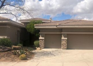 Pre Foreclosure in Scottsdale 85255 E TAILFEATHER LN - Property ID: 1759305350
