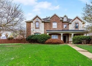 Pre Foreclosure in Frisco 75035 LORWOOD DR - Property ID: 1759479673