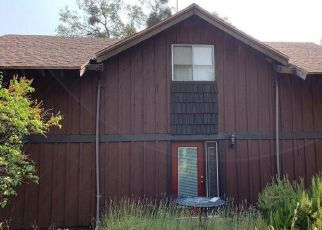 Pre Foreclosure in Manton 96059 WILSON HILL RD - Property ID: 1760799727