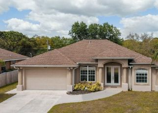Pre Foreclosure in North Port 34291 CROCK AVE - Property ID: 1761216679