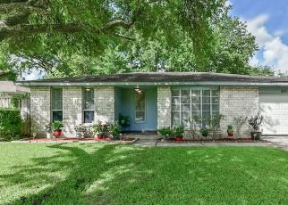 Pre Foreclosure in Friendswood 77546 DAVID GLEN DR - Property ID: 1762495557