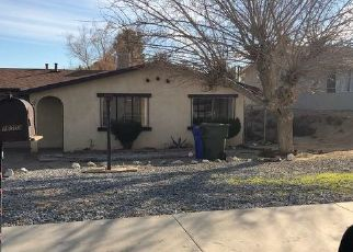 Pre Foreclosure in Victorville 92395 MOLINO DR - Property ID: 1763942628