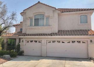 Pre Foreclosure in Henderson 89074 PRESQUE ISLE ST - Property ID: 1766497767