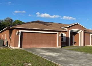 Pre Foreclosure in Port Saint Lucie 34953 SW UNDERWOOD AVE - Property ID: 1769842120