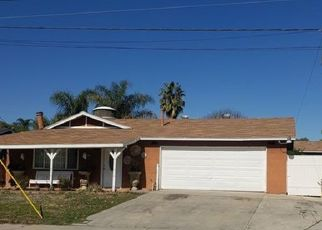 Pre Foreclosure in Lake Elsinore 92530 PARK WAY - Property ID: 1774847738