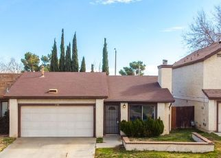 Pre Foreclosure in Palmdale 93550 CLUNY AVE - Property ID: 1774994454