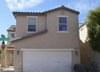 Pre Foreclosure in Las Vegas 89139 STONYFORD CT - Property ID: 1778320432