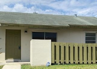 Pre Foreclosure in Miami 33186 SW 111TH S CANAL STREET RD - Property ID: 1778437367