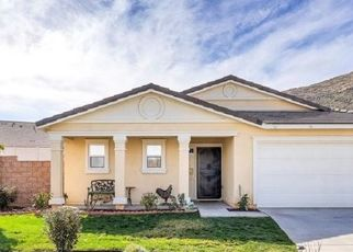 Pre Foreclosure in Winchester 92596 BIG RANGE DR - Property ID: 1779263388