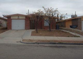 Pre Foreclosure in El Paso 79936 SAINT STEPHEN PL - Property ID: 1782975666