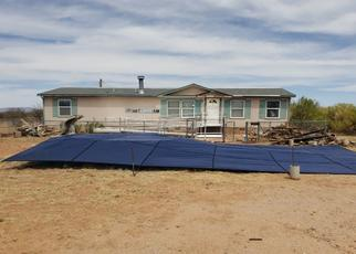 Pre Foreclosure in Sierra Vista 85650 S BURRO DR - Property ID: 1785940298