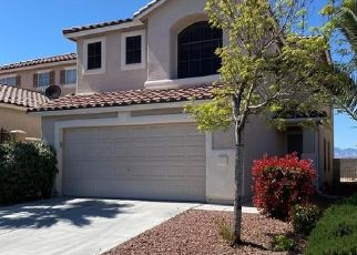 Pre Foreclosure in Henderson 89052 CATHEDRAL RIDGE ST - Property ID: 1790282824