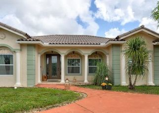 Pre Foreclosure in Homestead 33030 SW 197TH AVE - Property ID: 1797453323