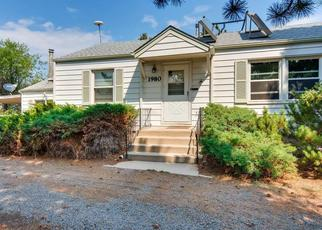 Pre Foreclosure in Denver 80215 IRIS ST - Property ID: 1800939156