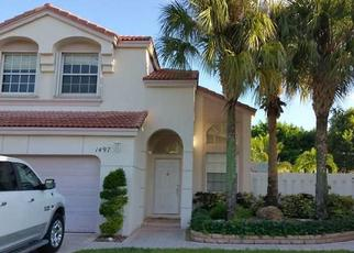 Pre Foreclosure in Hollywood 33028 NW 156TH AVE - Property ID: 1802950788