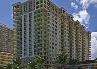 Pre Foreclosure in Hallandale 33009 S OCEAN DR - Property ID: 232610790