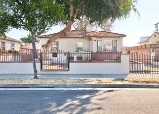 Pre Foreclosure in Los Angeles 90040 LEO AVE - Property ID: 441074131
