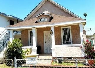 Pre Foreclosure in Los Angeles 90044 BONSALLO AVE - Property ID: 660237647