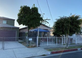 Pre Foreclosure in Los Angeles 90002 GRAPE ST - Property ID: 702894106